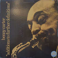 Benny Carter, Additions To Further Definitions, LP 1966