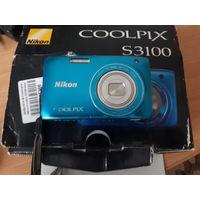 Цифровой фотоаппарат Nikon Coolpix S3100