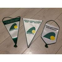 Вымпел флаг белорусская теннисная ассоциация большой теннис спорт