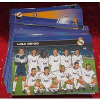 139 открыток Реал Мадрид