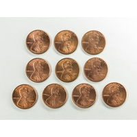 1 цент США 2004. Поштучно