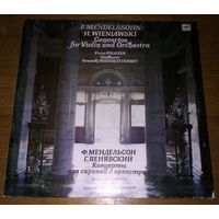 F. Mendelssohn, H. Wieniawski. Viktor Pikaizen , Conductor Gennady Rozhdestvensky - Violin Concertos