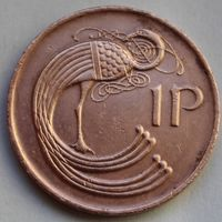 1 пенни 1980 Ирландия