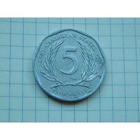 Лот 102: 5 центов 2004 Восточно Карибские Штаты