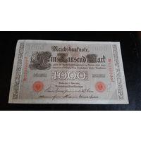 1000 марок 1910 г красная печать