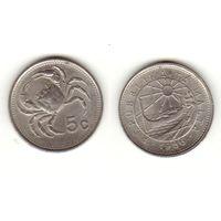 5 центов 1986