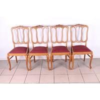 Комплект из 4 стульев.Винтаж.Массив.Дуба.Art-878.