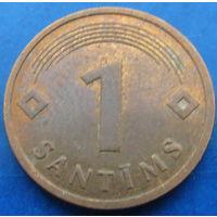 Латвия 1 сантим 1992 (2-72)