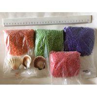 Цветной гравий песок для декорирования творчества набор то, что на фото