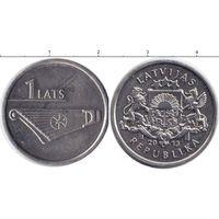 Латвия 1 лат 2013 UNC