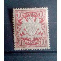 Бавария Германия 1888г Mi56