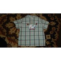 Рубашка, рост 86 см (на ребенка ростом 74 см-92 см) (Германия)