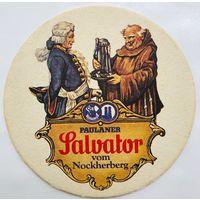 Подставка под пиво Paulaner Salvator /Германия/-9