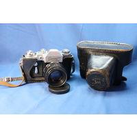 Фотоаппарат Зенит-3М, (юбилейная версия), с объективом Гелиус 44. С РУБЛЯ. АУКЦИОН!!!