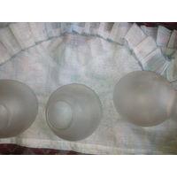Плафон для люстры в форме шара,круглый 3 шт