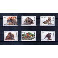 Фауна на марках острова Невис