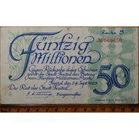 50 миллионов марок 1923г. Фрайталь