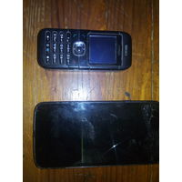 Два телефона на запчасти или  ремонт
