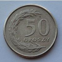 Польша 50 грошей. 1995
