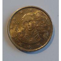 10 евроцентов, Италия, 2006