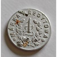 1 злотый кредитная марка Пружаны