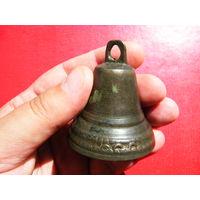Звонкий колокольчик со знаками мастера,без трещин.