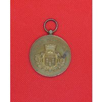 Медаль французская музыкальная 1891г.