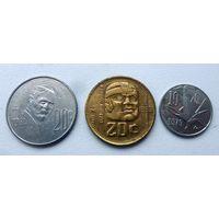 Мексика - 3 монеты (из коллекции)