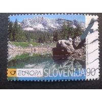 Словения 1999 Европа нац. парк Mi-3,0 евро гаш.