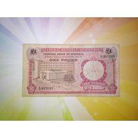 Нигерия 1 фунт 1967г