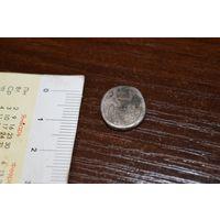 Старинный  щиток от перстня серебро с 1 рубля