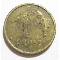 Польша 1 грош 2005