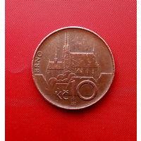 94-25 Чехия, 10 крон 1995 г.