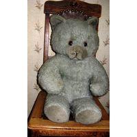 Медведь ГДР винтаж нач 70-х годов редкий. Мишка медвежонок Игрушка мягкая