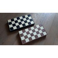 Старая шахматная доска, отличное состояние. СССР.
