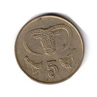 Кипр. 5 центов. 1991 г.