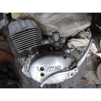 Двигатель  мотоцикл МЦ Германия 1963г