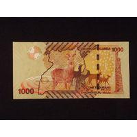 Уганда, 1000 шиллингов 2010 год, UNC
