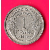 14-09 Франция, 1 франк 1959 г.