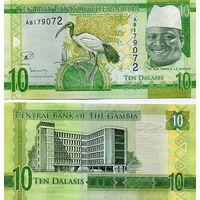 Гамбия   10  даласи  2015 год  UNC