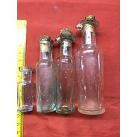 Старинные аптечные бутылочки цена за все.