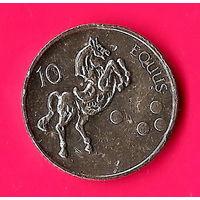 49-29 Словения, 10 толаров 2002 г.