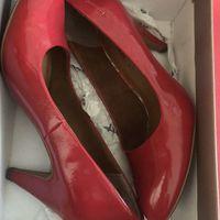 Красные новые туфли Tamaris 37 размер