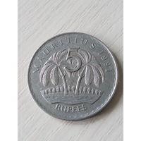 Маврикий 5 рупий 1991г.