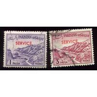 2 марки 1961 год Пакистан 83,85