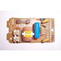Фильтр сетевой встраиваемый 220 вольт 6 ампер.