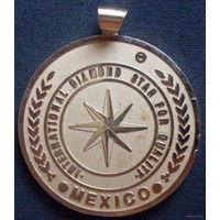 Медаль национальный институт мексика