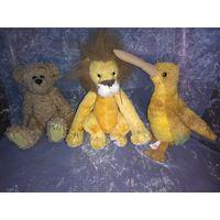 Винтажные игрушки TY( киви,львёнок,медвежонок),1993-1998 гг.