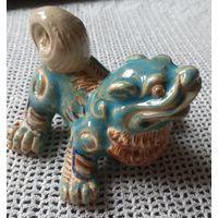 Древний Китай  Таньсаньцай трёхцветная глазурованная керамика периода династии Тан.