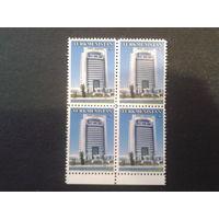 Туркменистан 2005 стандарт, совр. архитектура квартблок
